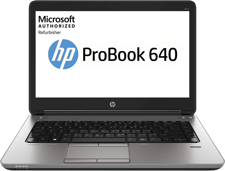 Intel Core i5 512GB SSD 16GB RAM Win10 Pro HP ProBook 640 G1 14 Laptop Renewed