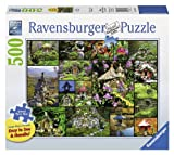 Ravensburger Fairy Houses Large Format Jigsaw Puzzle (500-Piece)