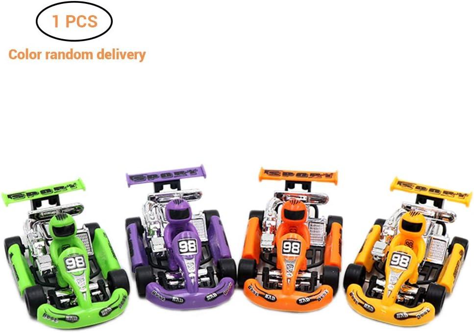 Peahop Kart Car Toy Plastic Racing Car Power Kart Veh/ículos Coche Ni/ños Puzzle Ni/ños Ni/ñas Educaci/ón temprana Juguetes