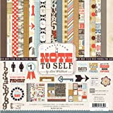 Echo Park Paper Note to Self 12 by 12-Inch Collection Kit