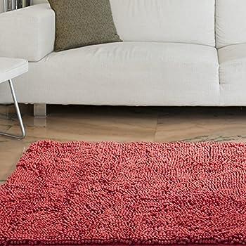 Amazon Com Lavish Home High Pile Shag Rug Carpet 21 X 36