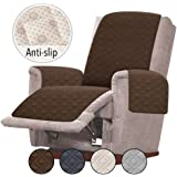 Rose Home Fashion RHF Anti-Slip Oversized Recliner Cover for Leather Sofa & Oversized Recliner Covers, Slipcovers for…