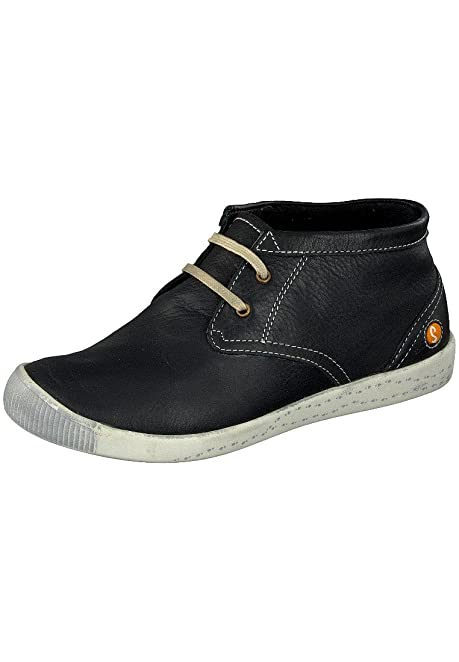 6d76d607412f Amazon.com  Softinos Indira washed leather, Black, Size - 37  Shoes