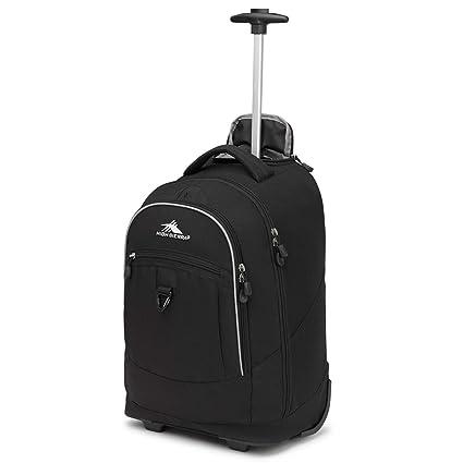 86ea2ff92 High Sierra Chaser Wheeled Backpack Backpack Black One Size: Amazon ...