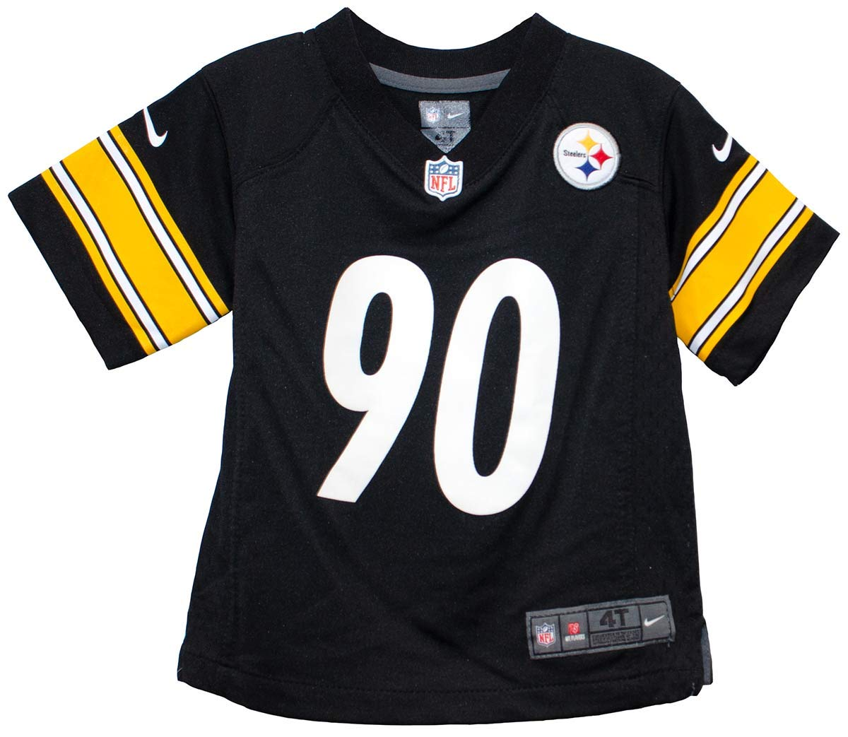 e0696496ef2b9 Nike TJ Watt Pittsburgh Steelers Team Color Toddler Game Jersey