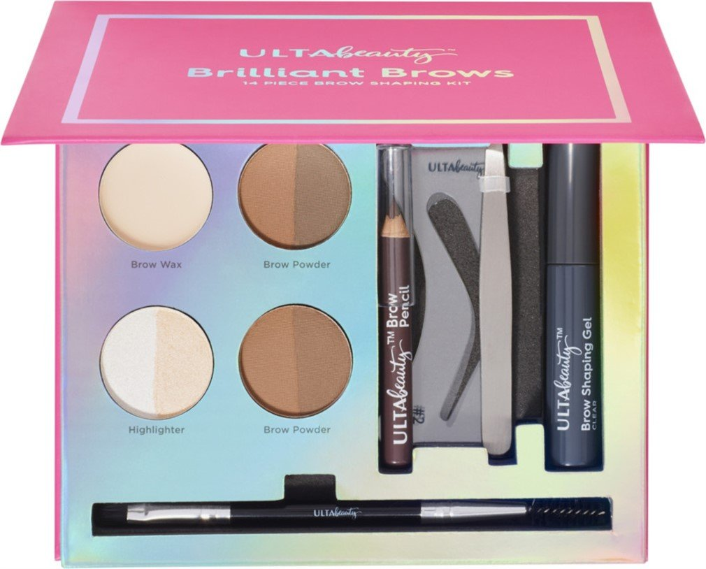 Amazon Ulta Beauty Brilliant Brows 14 Piece Brow Shaping Kit