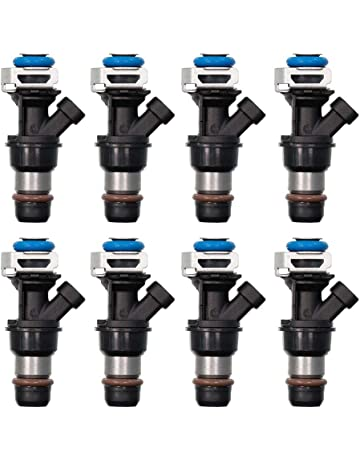 *Upgrade* 8Piece OEM DENSO Fuel Injectors for /<2002;03;04/> Chevy Tahoe 5.3L Flex