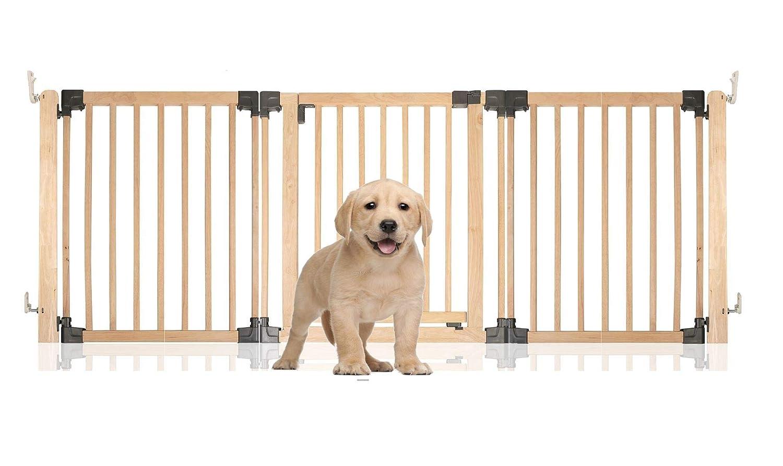Natural Wood Upto 216cmBettacare Wooden Multi Panel Pet Barrier Upto 136cm