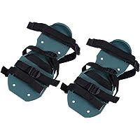 Regun Beluchter Sandalen Bodem - 1 Paar Gazon Beluchter Sandalen Bodemlosmaken Beluchter Spiked Schoenen Tuinieren Tool…
