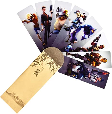 Amazon.com : ViLin Game Bookmark Double-Sided Gift Player ...