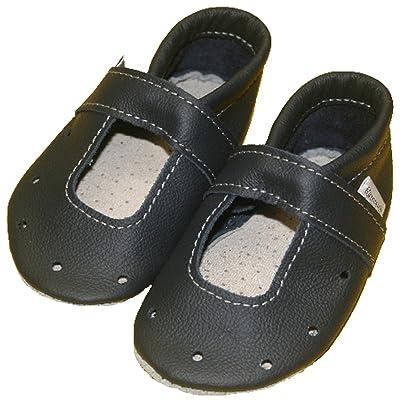 À 42 sandales unisexe bébé (bleu marine)
