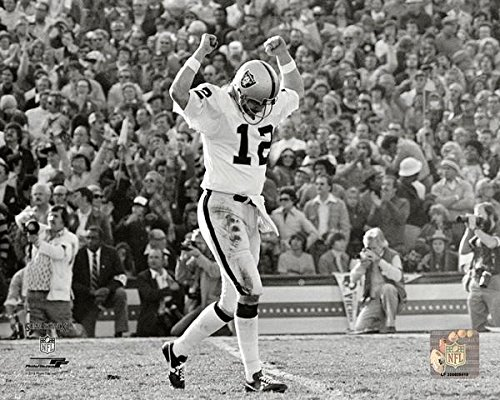 Oakland Ken Raiders (Oakland Raiders Ken Stabler - The Snake During Super Bowl XI 8x10 Photo, Picture)