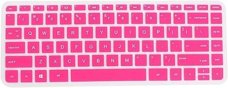 "3 Pcs Pink Blue Fuchsia Silicone Keyboard Skin Film Cover for Lenovo 15/"" Laptop"