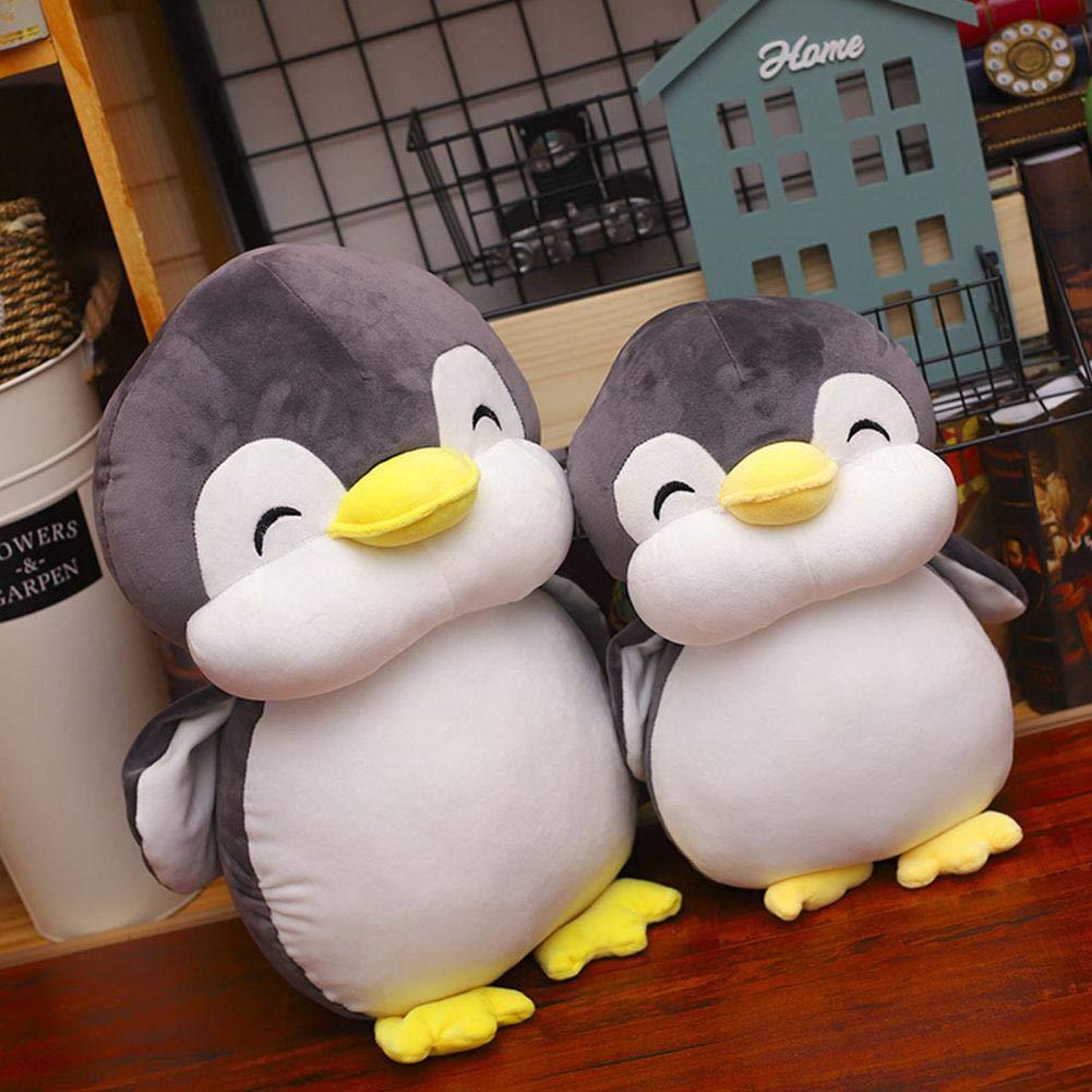 Diuspeed Juguete de Peluche de pingüino, pingüino Animales de Peluche Juguetes de pingüino para niños en festividades de cumpleaños navideños: Amazon.es: ...