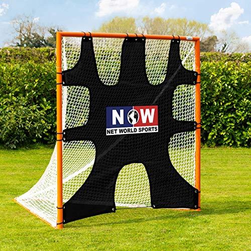 Net World Sports Forza Lacrosse Goal Target Sheet [6ft x 6ft] - 7 Hole Goal Target