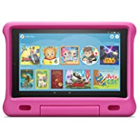 "Fire HD 10 Kids Tablet – 10.1"" 1080p full HD display, 32 GB, Pink Kid-Proof Case"