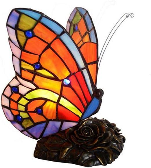 Glight Lámpara de Escritorio Estilo Tiffany, lámpara de Mesa ...