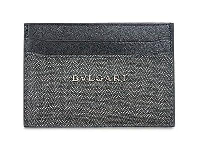 watch 371d3 c0da2 Amazon   ブルガリ カードケース 32584 BVLGARI シンプル名刺 ...