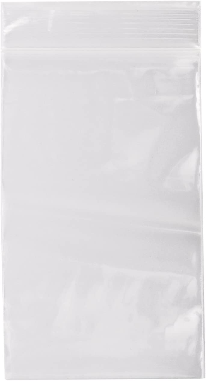 Owlpack Ziplock FBA FDA Clear Poly Plastic Product /& Storage Bags 2 Mil 3 x 5