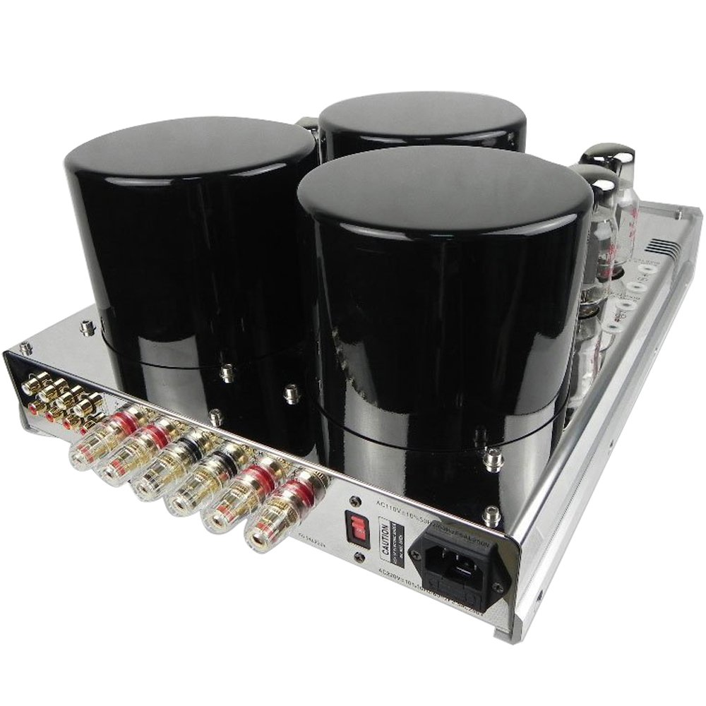 Yaqin Mc 13s Push Pull Integrated Stereo Tube Amplifier Power 35w Amplifierwithout Protect Cover Home Audio Theater