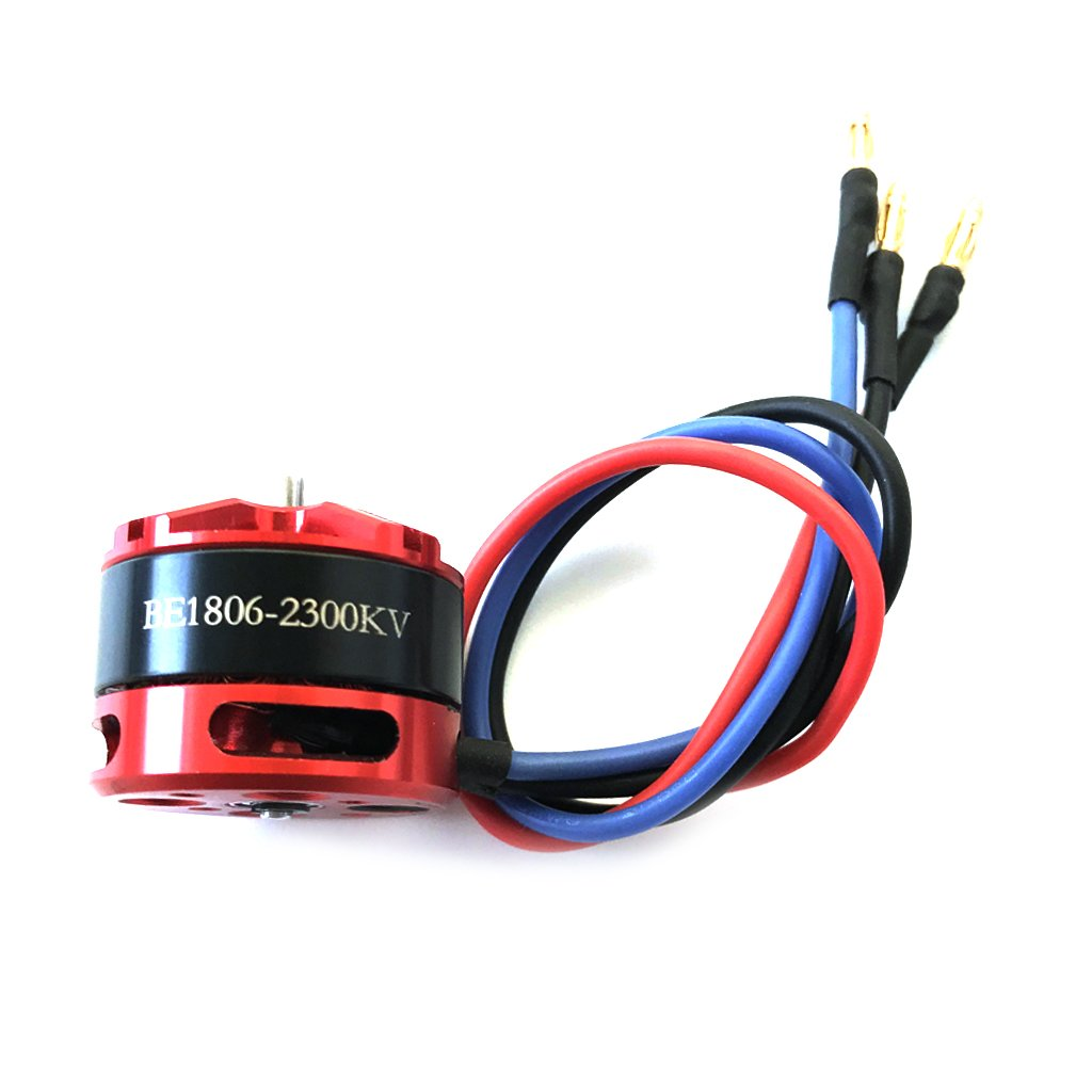 DYS BE1806 2300KV Brushless Motor Race Edition for Multicopters Parts 160~210 Micro Drone Black 1400KV