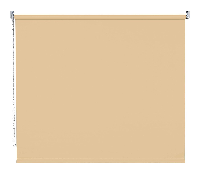 Verdunklungsrollo Fenster Tür Rollo Farbwahl Kettenzugrollo Seitenzugrollo Seitenzugrollo Seitenzugrollo Breite 60 - 200 cm Höhe 180 cm u. 240 cm Stoff lichtundurchlässig Metall Klemmhalter ohne Bohren (200 x 180 cm   Braun) B078ZR1DQD Seitenzug- & Springrollos 7d9f71