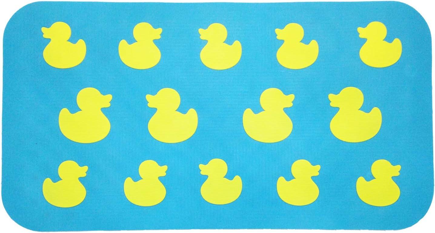 Aprice Non Slip Bathtub Mat Baby Toddler Shower Bath Tub Mat Kids Yellow Duck