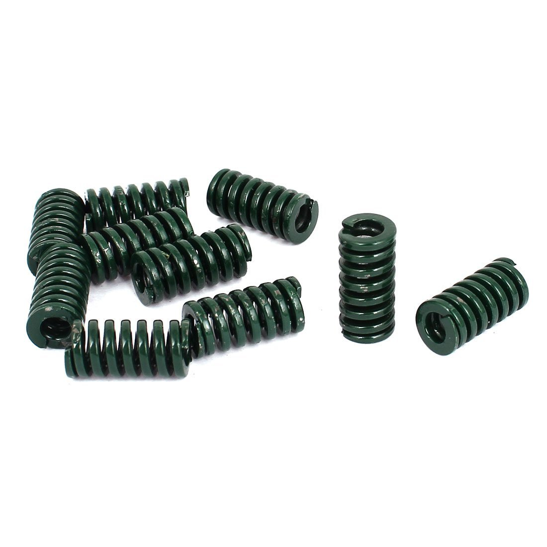 10mm OD 20mm Long Heavy Load Compression Mold Die Spring Green 10pcs DealMux DLM-B013G68TKW