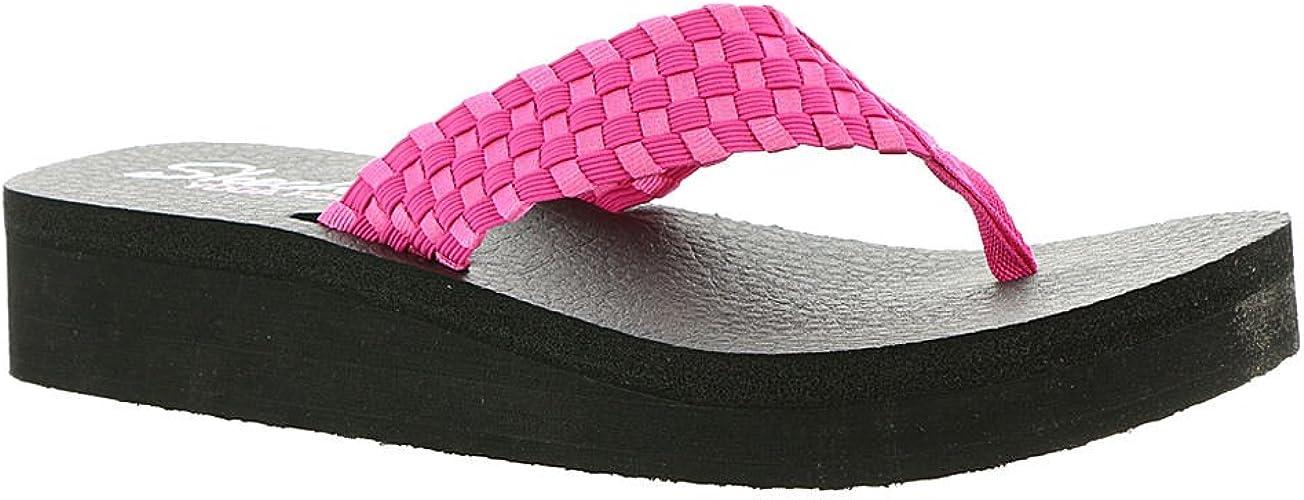 NEW Skechers Womens Vinyasa Yoga Foam Comfort Footbed Thongs Sandals 9 US or
