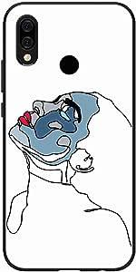اوكتيك كفر حماية غطاء جراب متوافق مع هواوي نوفا 3 اي خلفية صلبة واطراف مرنه ممتص للصدمات - تصميم مطفي متعدد الألوان بواسطة اوكتيك