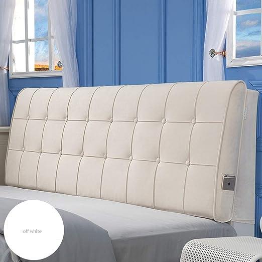 CRRQQ Sofá cama Cabecero tapizado grande Relleno Cojín ...