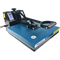 "ePhoto New 15"" x 15"" Digital T-Shirt Heat Transfer Press Sublimation Heat Press Machine 1515BLUE"