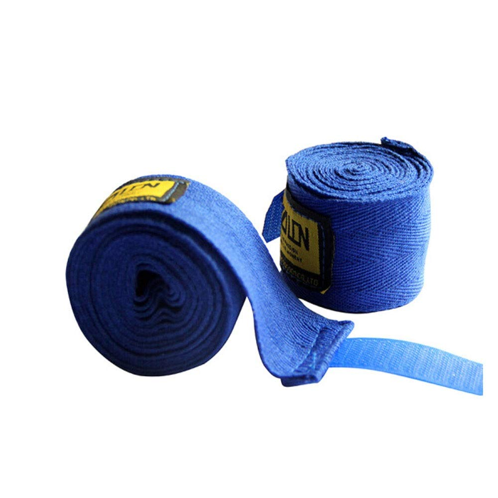 XIAONINGMENG Boxing Bandages, Sports Sanda Troublesome Belts, High Elastic Straps, Fighting Fighting Sandbags Hand Straps, Blue 5 Meters A Pair The Best Choice for Boxing Enthusiasts