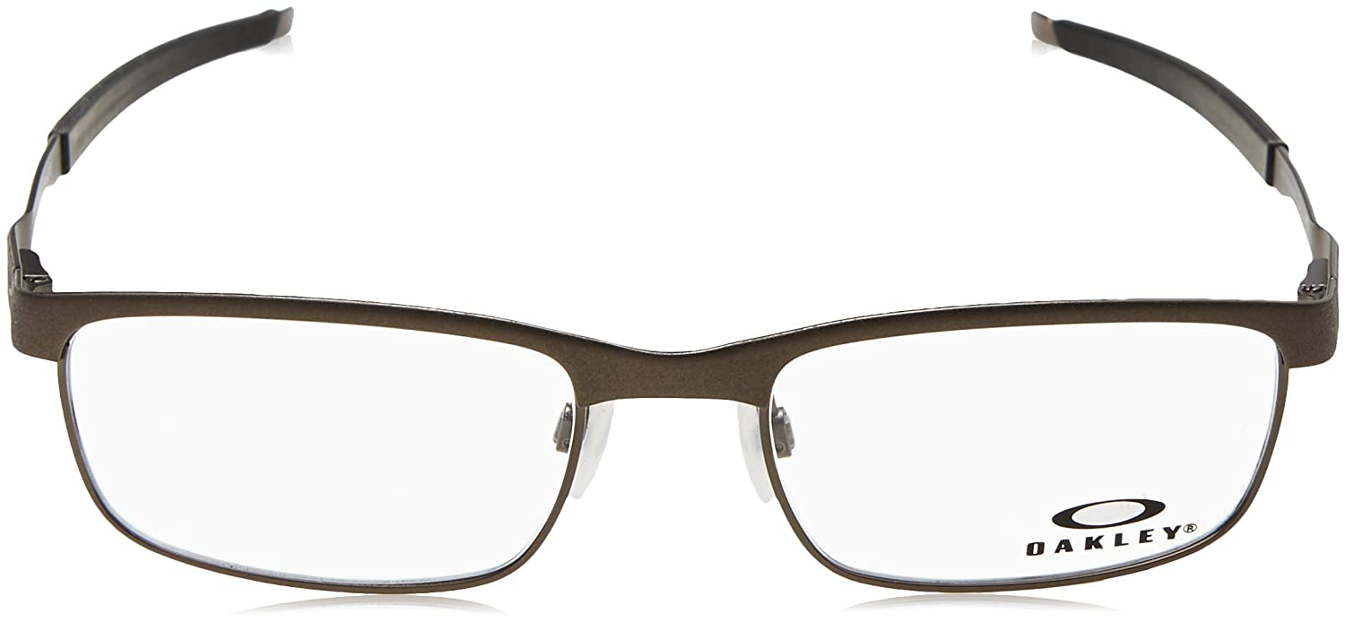 ad26246600b Oakley - Steel Plate (54) - Powder Cement Frame Only at Amazon Men s  Clothing store