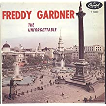 Freddy Gardner: The Unforgettable LP VG++ Canada Capitol T 6000