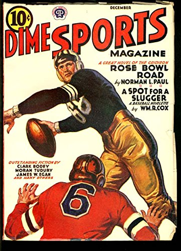 DIME SPORTS MAGAZINE 1946 DEC-ROSE BOWL STORY-PULP VF - Dime Sports Magazine