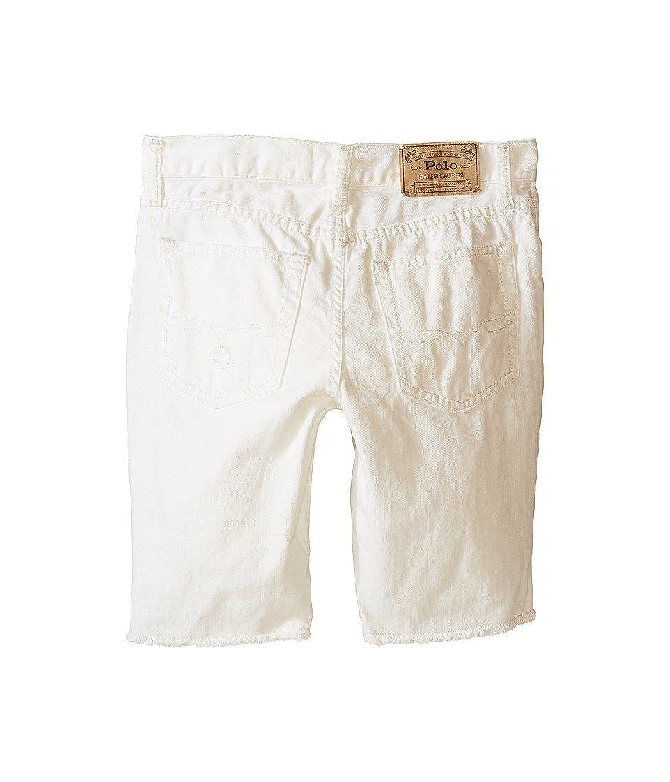 Polo Ralph Lauren Kids Distressed Jean Shorts Big Kids Kamm Wash Boys Jeans