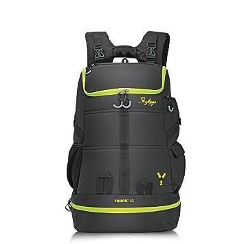 020b77a770 Skybags Weekender 49 Ltrs Black Hiking Backpack (TROP45BLK)  Amazon.in   Bags