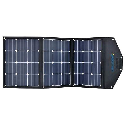 Amazon.com: ACOPOWER 120 W portátil panel solar 3 x 40 W ...
