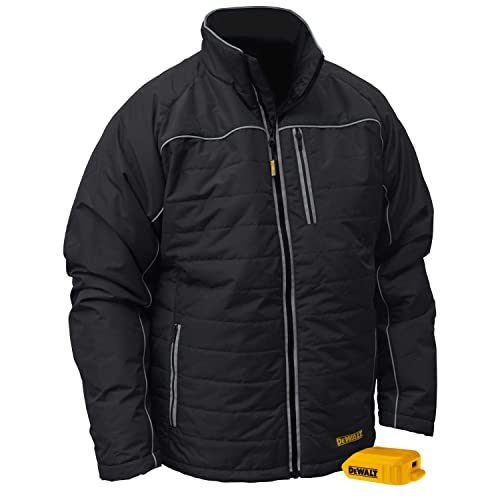 Radians DCHJ075B-L Quilted Heated Jacket, Large