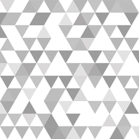 Papier Peint Motif Geometrique Triangles Rouleau 0 50 X 10 Mt