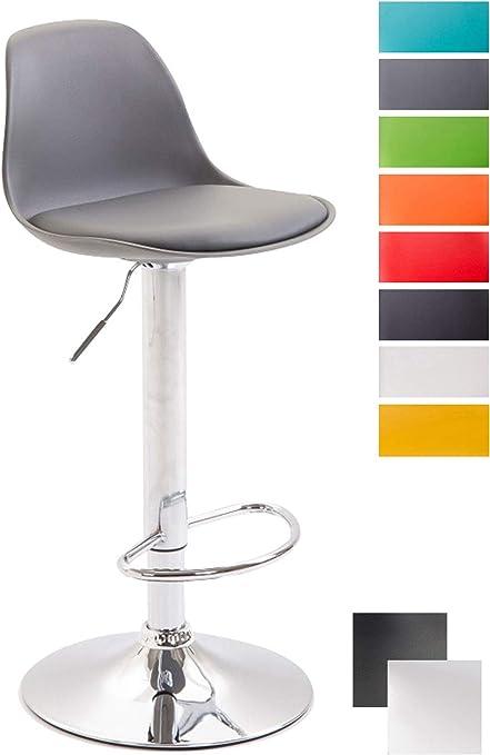 Tabouret de Plastique en Réglable Similicuir Repose Hauteur Bar Pied Chaise Design Assise de Kiel Bar CLP Dossier avec Tabouret Ergonomique hsrtQdC