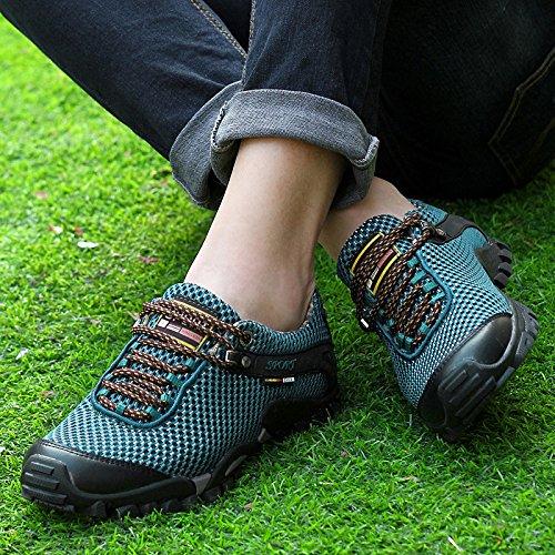 Hommes Été Pour Course Antidérapantes De Randonnée Blue Caoutchouc Dsfghe En Respirant Mesh Chaussures ZYqR4tnI