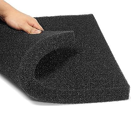 Esponja filtro para acuario, de Naisicatar, de espuma de algodón bioquímico, 50 x