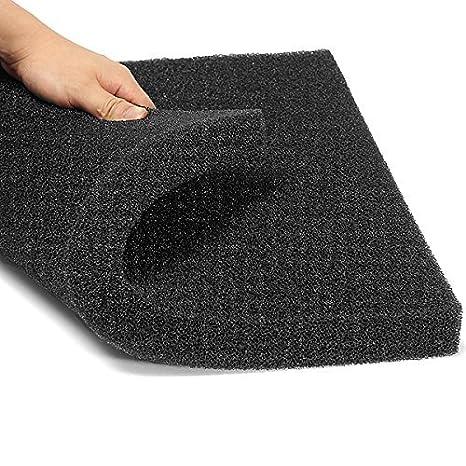 Esponja filtro para acuario,de espuma de algodón bioquímico, 50 x 50 x 2,5 cm: Amazon.es: Productos para mascotas