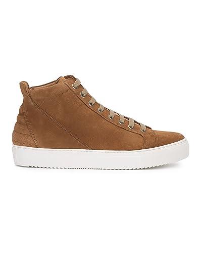 Sneakers Cognac Baskets M Basses studio Alexandre Homme Suede D9W2YHeEIb