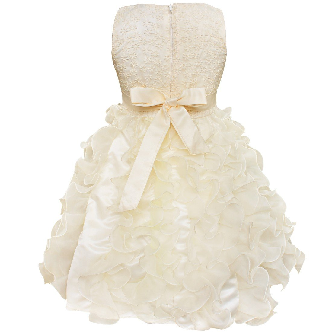 Amazon.com: YiZYiF Kids Girls Wedding Pageant Recital Graduation Bridesmaid Formal Dress: Clothing