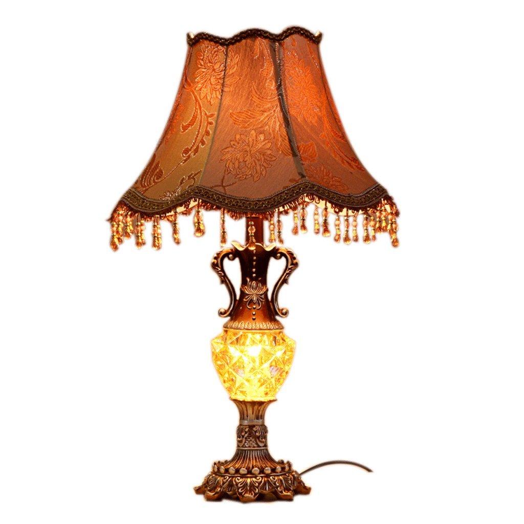 Hotel Schreibtischlampe Europäische Tischlampe E27 Licht Wohnzimmer Luxus Dekorative Tischlampe Retro Schlafzimmer Nacht Persönlichkeit Lampen