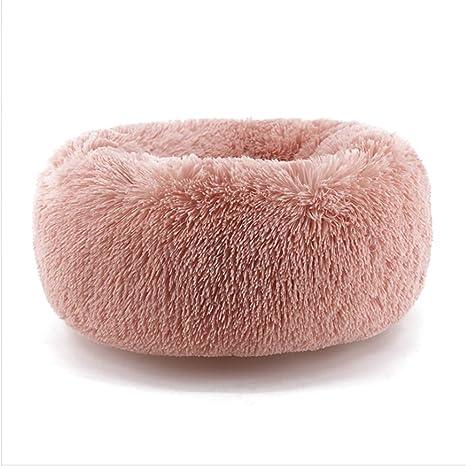 Tolyneil Cama Caliente de Invierno para Mascotas, Cama Redonda, Cama para Gatos, cómoda