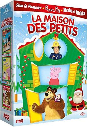 Maison des petits - Coffret: Sam est en vacances, Peppa Pig : Le club secret, Masha & Michka : Les rois du cirque